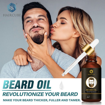 HAIRCUBE Organic Beard Oil Hair loss Product Beard Growth Oil For Growth Men Beard Grow Nourishing Enhancer Moustache Beard Care недорого