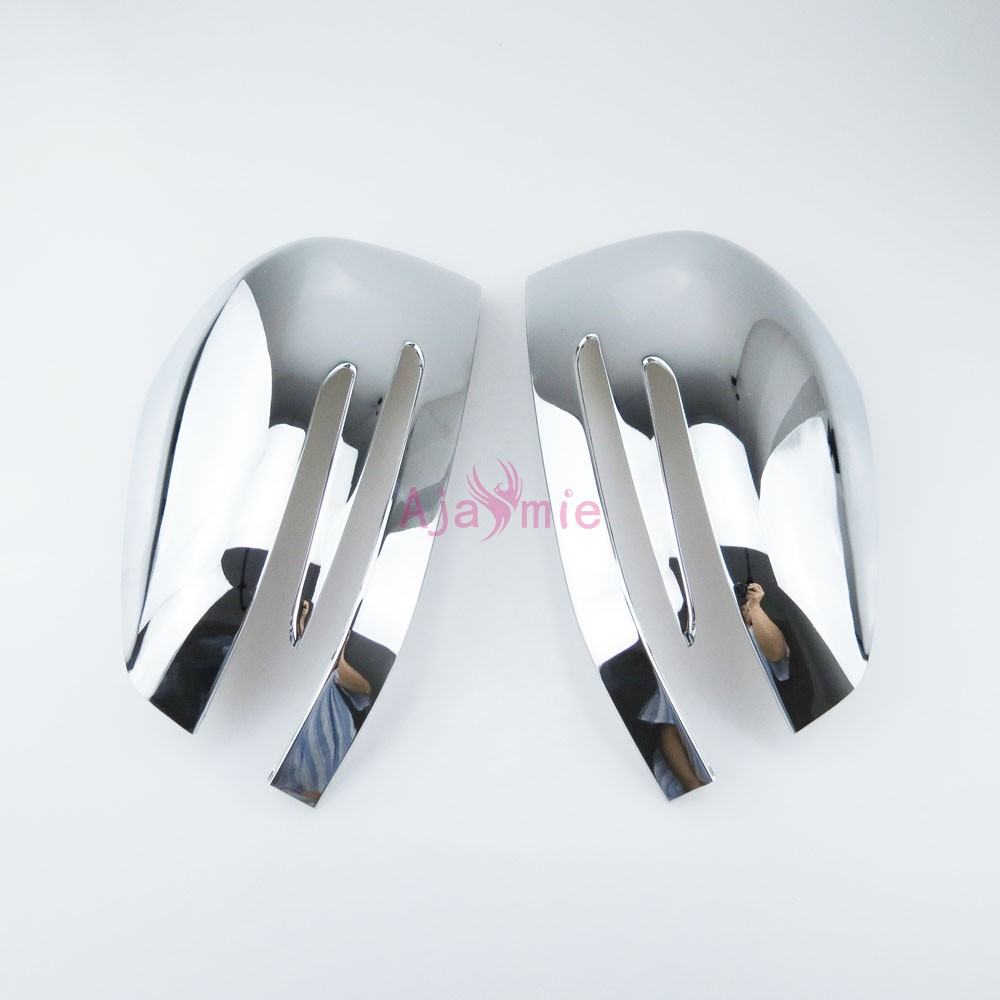 For Mercedes Benz AMG W166 C292 X166 GLE Wagon Coupe GL GLS Class Side Mirror Cover Rear View Overlay Chrome Car Accessories in Chromium Styling from Automobiles Motorcycles