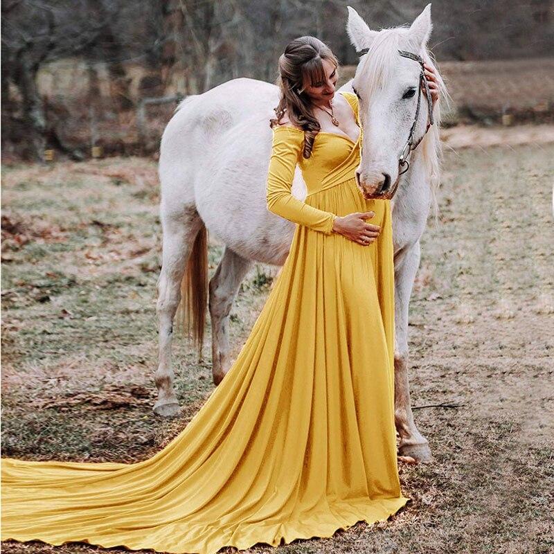 Длинные платья для беременных с хвостом для фотосессии для беременных, реквизит для фотосессии, макси платья для беременных, Одежда для