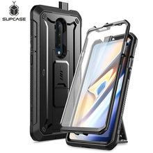 For One Plus 7T Pro Case SUPCASE UB Pro Heavy Duty Full Body Holster Cover with Built in Screen Protector For OnePlus 7T Pro