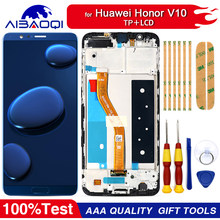 New original Touch Screen LCD Display LCD Screen For Huawei Honor V10 Replacement Parts + Disassemble Tool+3M Adhesive(China)