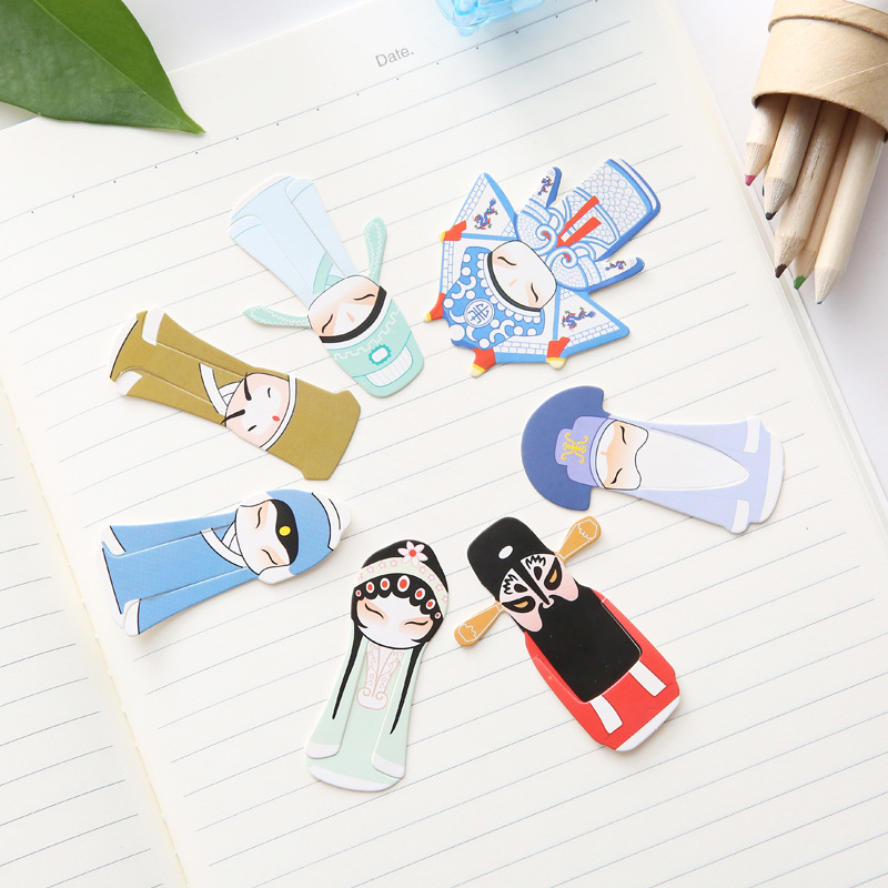 Creative Chinese-style Retro Paper Bookmark Students Learning Supplies Business Anniversary Small Gifts Wholesale