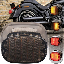 1 pcs LED Tail light For Harley Sportster Dyna Electra Glide Road King Low Rider Sportster Softail Night Train