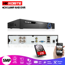 XMeye – enregistreur vidéo 5 en 1 Hi3521D H265 + 5MP 4MP 4CH 8 canaux 1080P, WIFI hybride TVi CVI NVR AHD CCTV