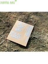 Pb saco brincalhão esportes ao ar livre diy m16a2 água bala arma de metal adesivo jm10 m4 lehui cpak p1 ttm acessórios id14