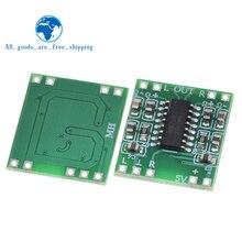 TZT 10PCS PAM8403 Super mini digital amplifier board 2 * 3W Class D digital amplifier board efficient 2.5 to 5V USB power supply