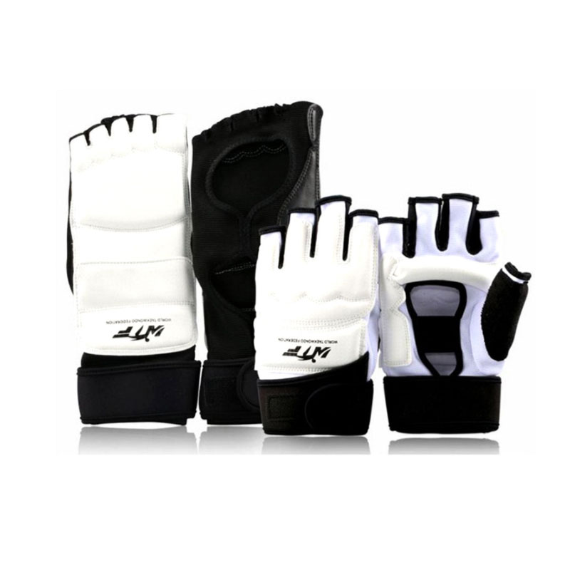 Taekwondo Uniform Foot Gloves Adults Kids Hand Finger Palm Protector Boxing Gloves Karate Combat Martial Arts Socks Equipment