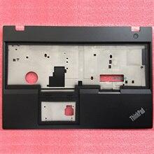 цена на New Original for Lenovo ThinkPad T570 P51S Keyboard Bezel Palmrest Cover without Touchpad Fingerprint Hole 01ER047