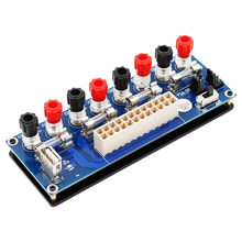 Electric Circuit 20/24Pins Atx Benchtop Computer Power Supply 24 Pin Atx Breakout Board Module Dc Plug Connector With Usb 5V P(China)