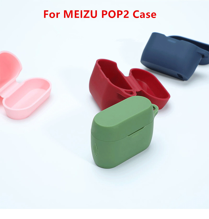 Silicone Cover For Meizu POP 2 Soft Silicone Protective Shell Charging Box TPU Frame For Meizu POP 2