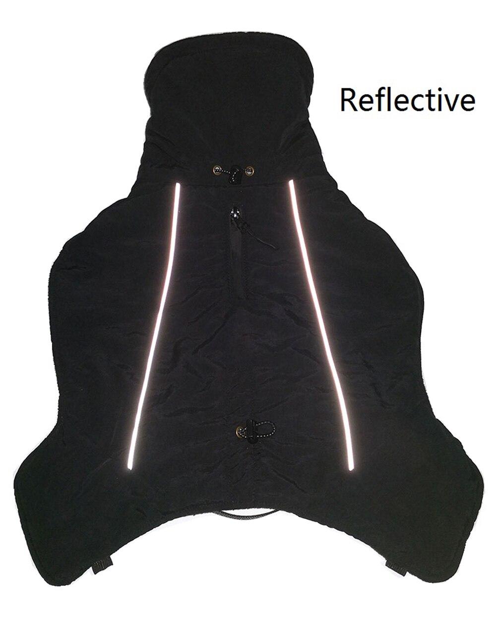 Зимние комбинезоны для собак, теплые Светоотражающие пальто для собак, лыжная куртка, водонепроницаемая одежда для собак, функциональный дизайн для S средних и больших собак-3