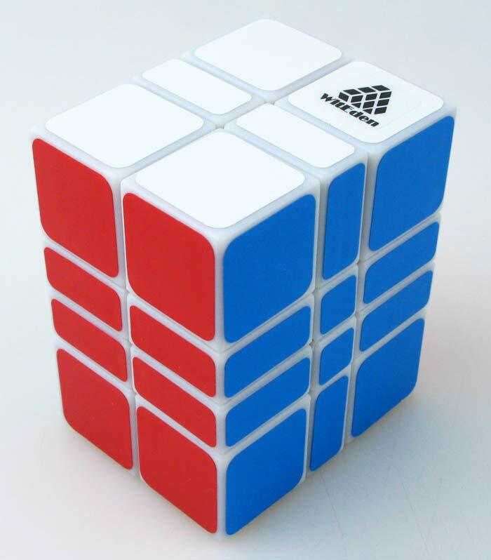 Image 2 - MF8 Crazy 3x3x3 wormhole Magic Cube WitEden Super 3x3x2 2x3x4 3x3x2 3x3x7 3x3x8 speed cube Educational Cubo magico Toys as giftmf8 crazymagic cube stickerlessmagic cube -