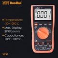 RuoShui VC97 True RMS 4000 Цифровой мультиметр тестер сопротивление конденсатор Частота Температура транзистор multimetro электрические