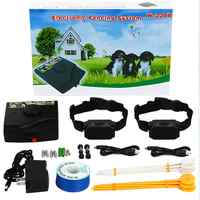 Wireless Electric Fence For Dogs Rechargeable Waterproof Shock Dog Fence Collar Underground Pet Fencing System
