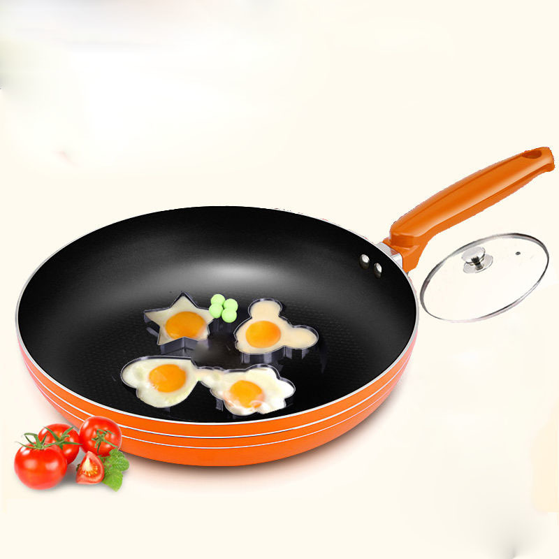 Pan Frying Pan Non-stick Pan Omelette Pan Pancake Pan Steak Pot Small Frying Pan Induction Cooker General Cookware Cast Iron