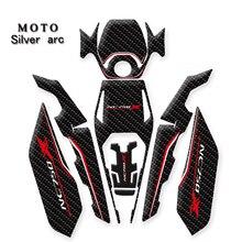 אופנוע מדבקות דלק אדרה מגן מדבקות להונדה NC750 NC750X NC750 X NC 750 X
