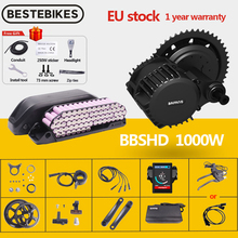 Conversion-Kit Motor BBSHD Mid-Drive Lithium-Battery Bafang Electric 1000w BBS03 52V