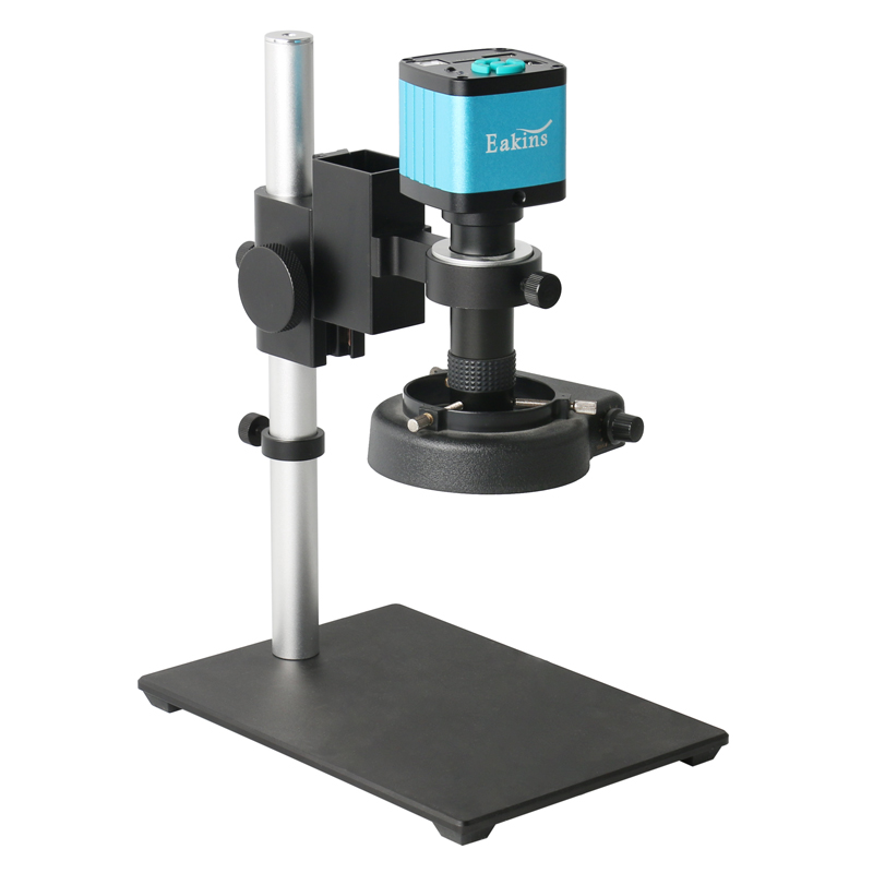 48MP 4K HDMI USB Digital Video Monocular Microscope Camera Continus Zoom 100X 130X C-Mount Soldering Mobile Phone Repair Tools