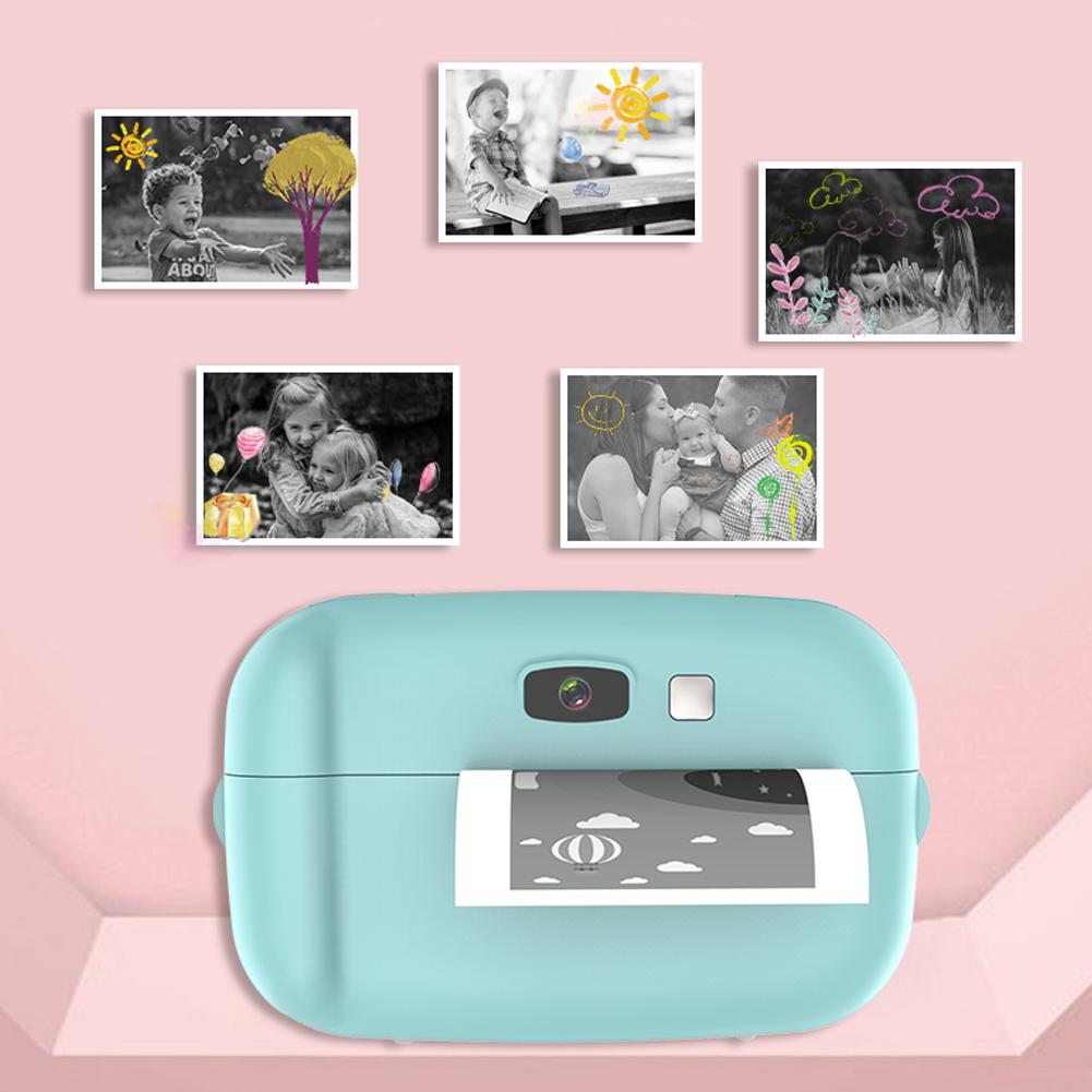 Kids Camera Baby Photo Photograph Camera Printable Directly  Children Educational Toy Birthday Gifts Clearer Sound