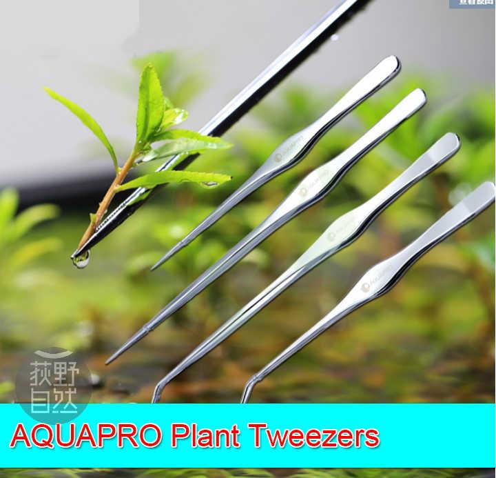 Chihiros roślina akwariowa pincety Bend Aquapro wodne 25cm 33cm klasa 1 lustro powierzchnia nierdzewny akwarium narzędzia