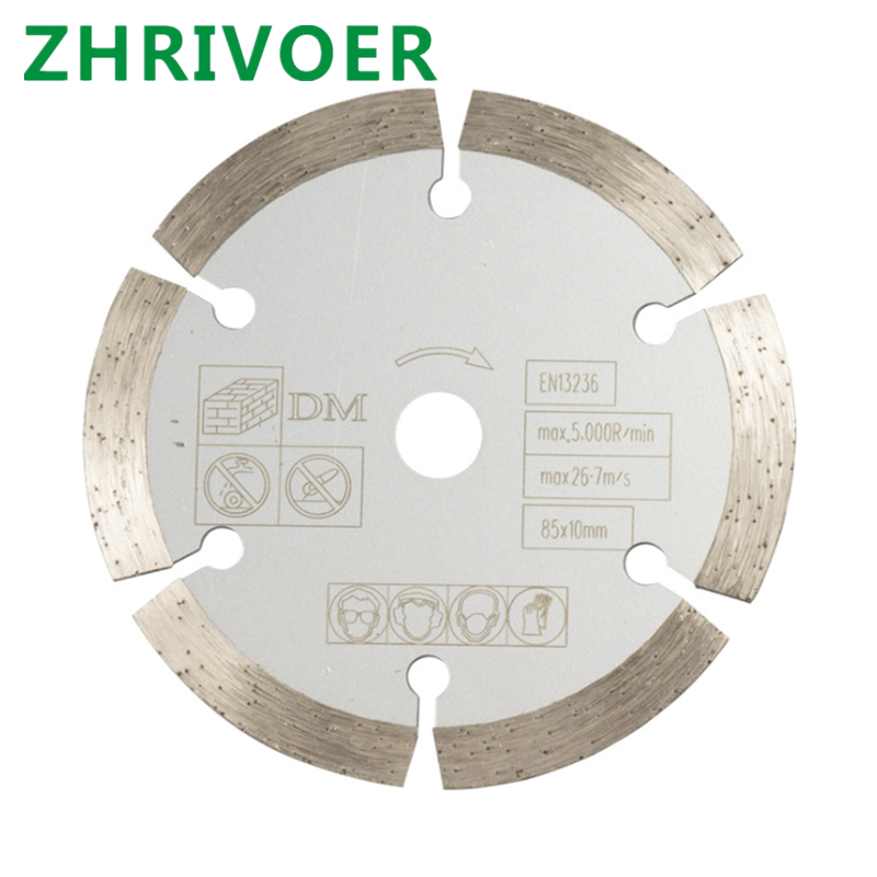 1pcs 85mm*15mmStone Slice Slotting Blade Ceramic Tile Saw Blade Marble Diamond Marble Machine Angle Grinder Cutting Blade