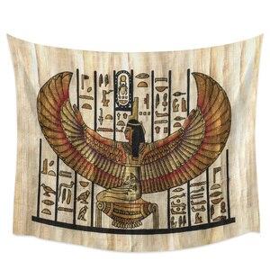 Настенный Гобелен для спальни, египетские крылья для девочек, художественный гобелен, Настенный Коврик для пикника, йоги, украшения стен дл...