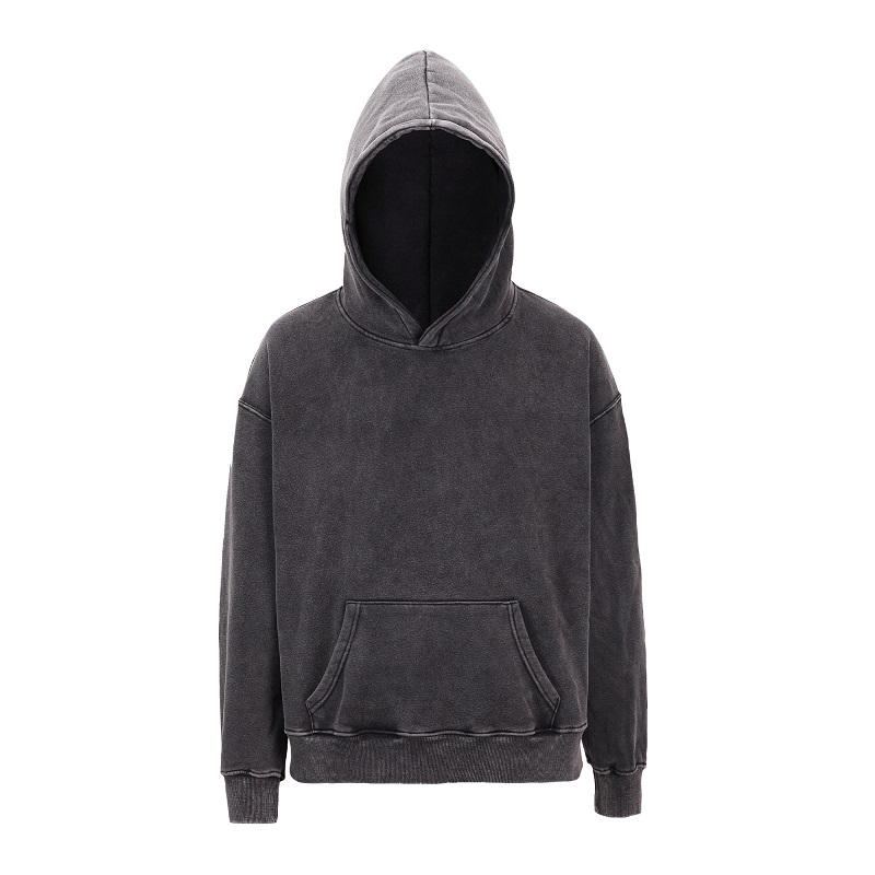 2019 New Kanye Hoodies Sweatshirt Men Washed Distressed Hoodies Hip Hop Oversize Fleece Warm Sweatshirt
