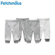 2020 babie lato spodnie dla niemowląt długie spodnie dziewczynek chłopców legginsy noworodka bawełniane ubrania dla dzieci odzież dla niemowląt dzieci PP spodnie tanie tanio Fetchmous COTTON Formalne Elastyczny pas Pasuje prawda na wymiar weź swój normalny rozmiar Pełnej długości Geometryczne