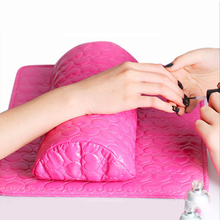 цена на Soft Hand Cushion Pillow And Pad Rest Nail Art Arm Rest Holder Manicure Care Hand Rests Salon Manicure Tool