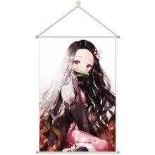Настенный плакат из сплава с аниме «рассекающий демонов» 60x90