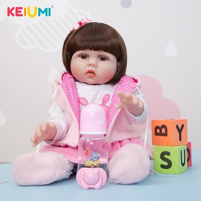Кукла-младенец KEIUMI 19D15-C481-H104-H162 2