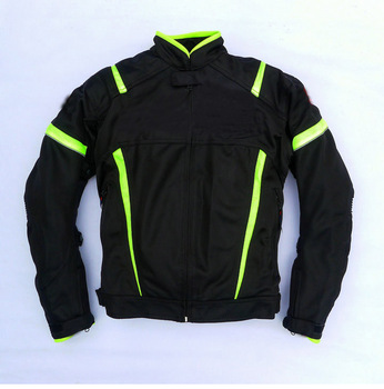 Summer Mesh Jackets Moto Racing Off-Road Windproof Breathable Clothing for SUZUKI With 5pcs Protectors