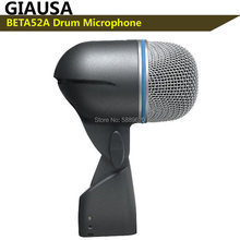 Freies Verschiffen, BETA52A shuretype ,BETA52A Verdrahtete Trommel Mikrofon, microfone,microfono,Mikrofon, Mikrofon