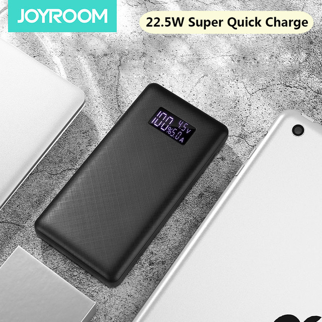 Joyroom 22.5W Power Bank for HUAWEI SuperCharge Universal Powerbank 16000mAh Batterie Externe Fast Charging Portable Charger