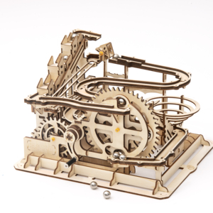 Robotime 4 Kinds DIY 3D Marble Run Game Wooden Gear Drive Model Building Kits Toy for Children LG501-LG504 for Dropshipping