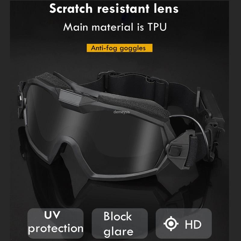 airsoft militar oculos de combate tatico anti nevoeiro 04