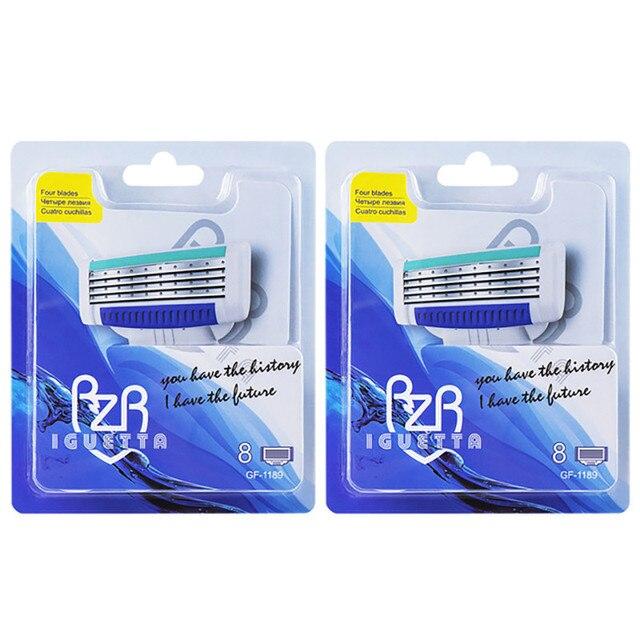Сменные картриджи для бритья RZR Iguetta GF4-1189+GF4-1189, 16 шт. 1