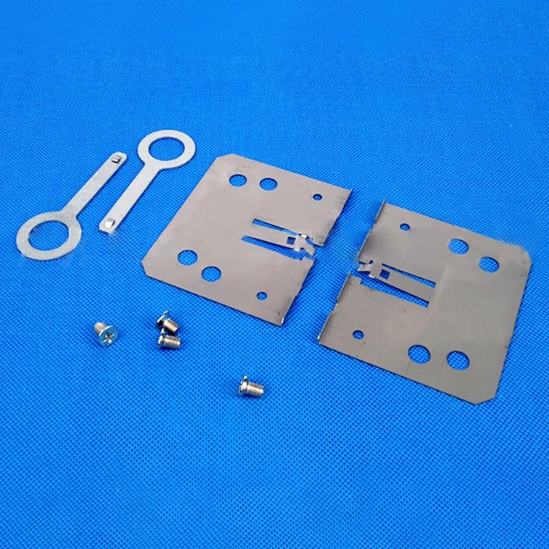 Универсальный ISO 2DIN двойной слиток железный каркас DVD навигационный кронштейн-панель для автомобильной аудио модификации рамки - Название цвета: 1