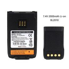 Two Way Radio 2000mAh Li-ion Battery for Hytera BL2010 BL1504 UL913 PD562 PD502 PD682G цена