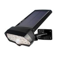 16 Leds 태양 빛 Pir 모션 센서 태양 램프 방수 태양 강화한 스포트라이트 벽 램프 정원 장식
