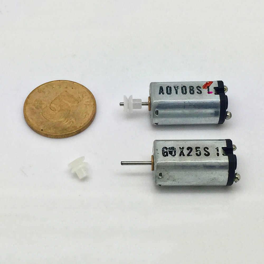 MINI N30 มอเตอร์พลาสติกล้อ DC 6V 7.2V 9.6V 12 โวลต์ความเร็วสูง Precious โลหะ BrushDIY ของเล่นเรืองานอดิเรก
