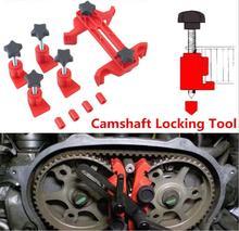 9 teile/satz Auto Auto Dual Cam Klemme Nockenwelle Motor Timing Kettenrad Getriebe Locking Tool Kit Nockenwelle Kettenrad Getriebe Cam Lock werkzeuge