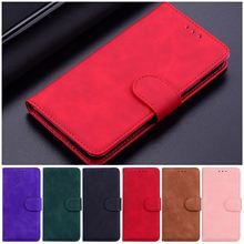 Soft Leather Phone Shell For Case Samsung Galaxy A51 A71 A01 A11 A21 A21S A31 A41 A81 A91 Solid Color Coque Flip Wallet Bag D26F