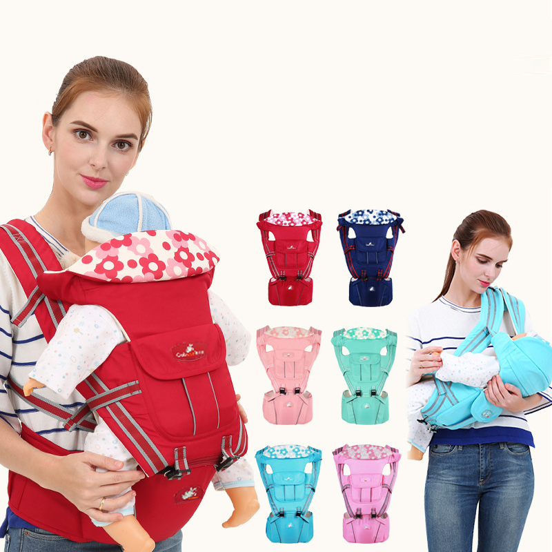 Kangaroo Baby Backpack Carrier Storage-Pouch Sling-Wrap Waist-Stool-Hipseat Front-Facing