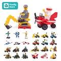 Оригинальные мини-блоки моделей для автомобилей, совместимые с Legoeinglys, городской полицейский самолет, кирпичи, игрушки, подарок ребенку