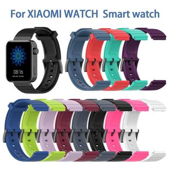 18MM Multicolor Straps For Xiaomi Watch Smart High Quality TPE Replacement Band Strap Wrist