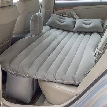 Durable Car Back Seat Cover Car Air Mattress Travel Bed Moisture-proof Inflatable Mattress Air Bed for Car Interior