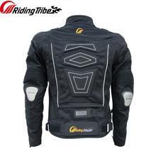 גברים אופנוע רכיבה כבד מגן מעיל כתף טיטניום הגנת קיץ עמיד למים מוטוקרוס מירוץ מעיל JK 30