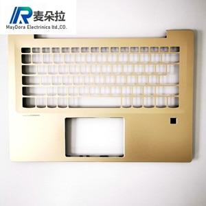 New Original Laptop case For Lenovo ideapad 520S-14 520S-14IKB 7000-14 Palmrest upper case EU/USI keyboard grid type FP GOLDEN