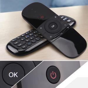 Двусторонняя воздушная летучая мышь USB пульт дистанционного управления для Android TV BOX PC Wechip W1 инфракрасная сенсорная функция тела Мини 2,4G Бес...